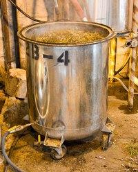 Distillation of lavender